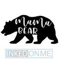 Bear Family Temporary Tattoos