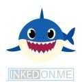 Baby Shark Temporary Tattoos
