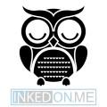 Owl Temporary Tattoos